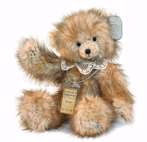 Silver Tag 4 Mia Bear Collectible Limited Edition Teddy from Suki