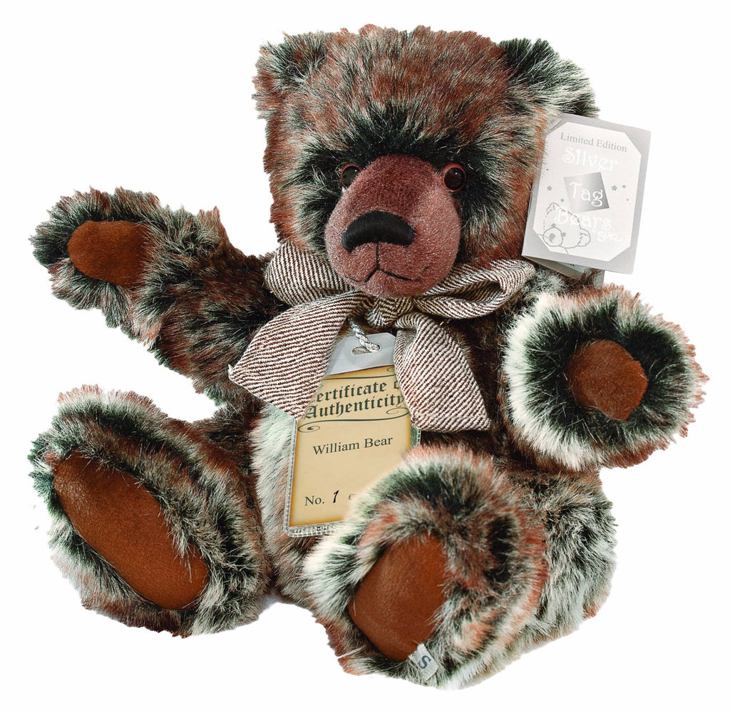 Silver Tag Series 1 William Bear Collectible Limited Edition Teddy from Suki