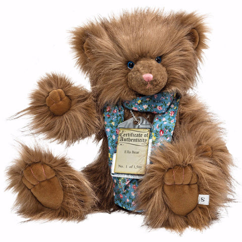Silver Tag 5 Ella Bear Collectible Limited Edition Teddy from Suki