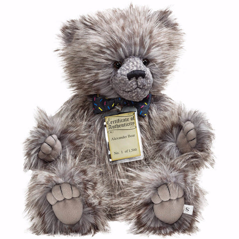 Silver Tag 5 Alexander Bear Collectible Limited Edition Teddy from Suki