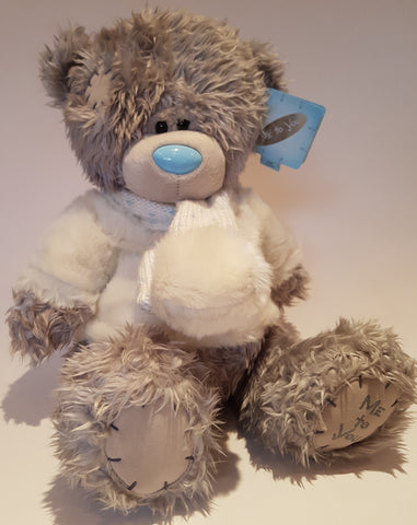 Me To You Tatty Teddy 12inch White Jumper and Scarf