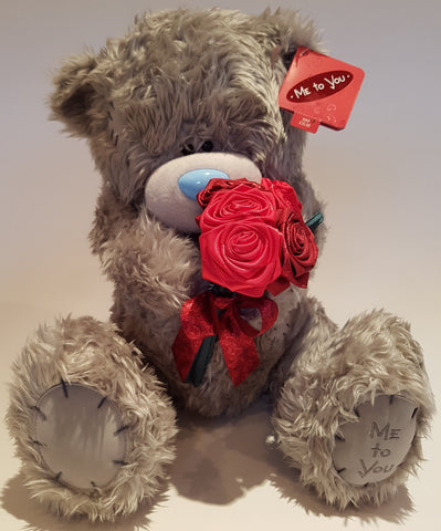 Me To You Tatty Teddy 18inch Holding Roses Bear