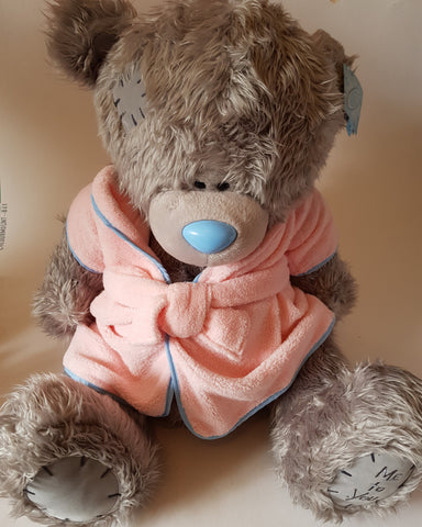 Me To You Tatty Teddy 24inch Bear with Pink Dressing Gown