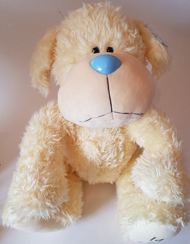 Me To You Tatty Teddy 42cm Cream Dog with Pink Collar