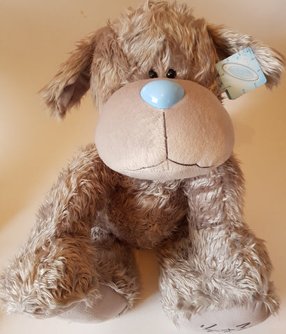 Me To You Tatty Teddy 42cm Grey Dog with Red Collar