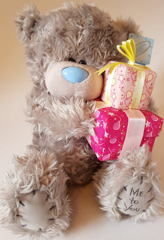 Me To You Tatty Teddy 28cm Bear holding Presents
