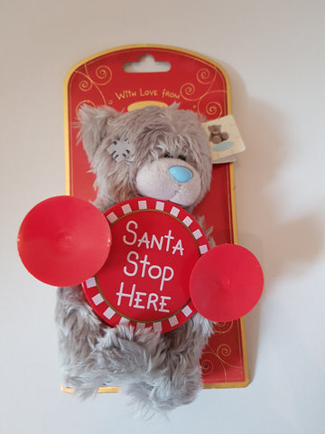 Me To You Tatty Teddy 18cm Santa Stop Here