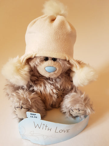 Me To You Tatty Teddy Bear with Hat 7inches With Love