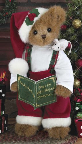 Bearington Xmas Teddy Christopher ChrisMouse