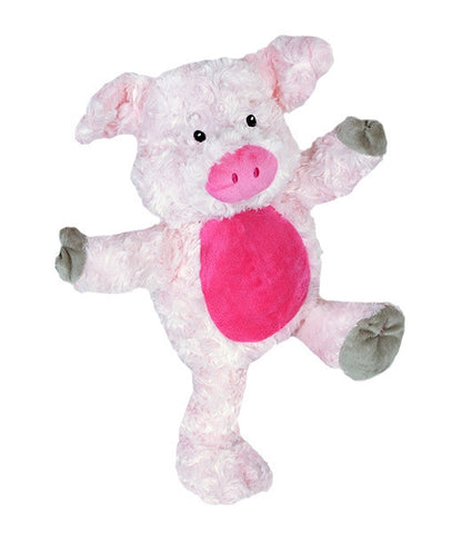 "Teddy Mountain - Bear - Pinks the Pig (16"") - NEW DESIGN"