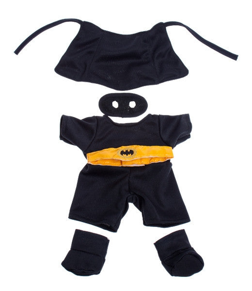 "Teddy Mountain - Outfit - BatBear with Mask (8"")(R)"