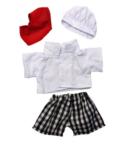 "Teddy Mountain - Outfit - Chef Outfit ( 8"")(R)"