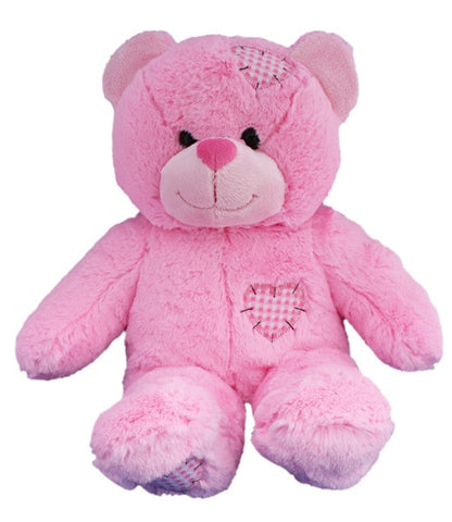 "Teddy Mountain - Bear - Pink Patches Bear (16"")"