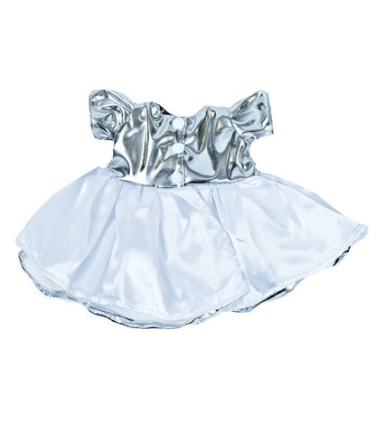 "Teddy Mountain - Outfit - Amazing ""Silver Shine"" Dress (16"")"