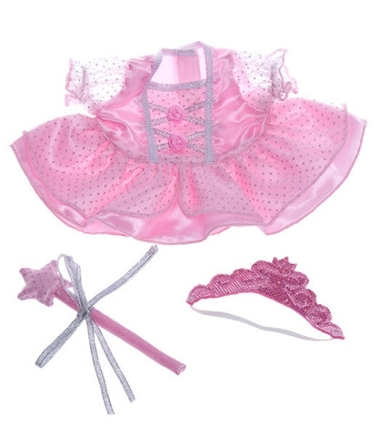 "Teddy Mountain - Outfit - Fairy ""Princess"" with Wand & Tiara (8"")"