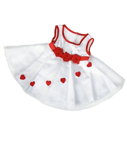 "Teddy Mountain - Outfit - Adorable Hearts Dress (16"")"