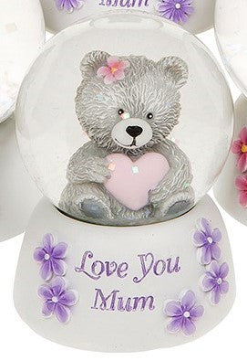 Mums Bear Waterball - Love you Mum