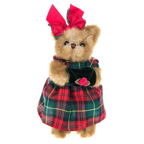 Bearington Xmas Teddy Carli