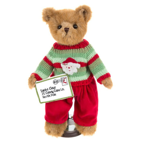 Bearington Xmas Teddy Ben A Believer