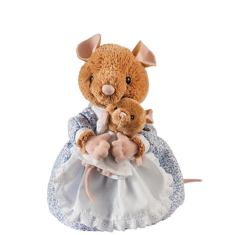Beatrix Potter Plush Hunca Munca and Baby (Large)