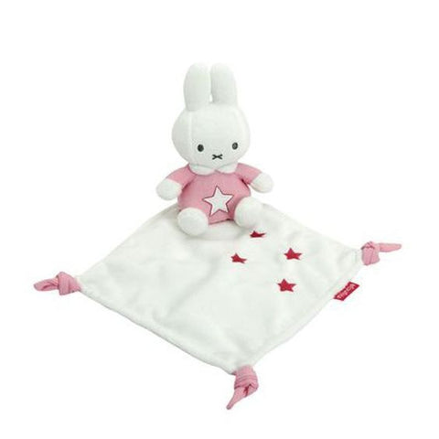 Miffy Pink Cuddle Cloth - Comfort Blanket