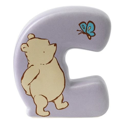 "Classic Pooh ""C Winnie The Pooh"" Alphabet Letter"
