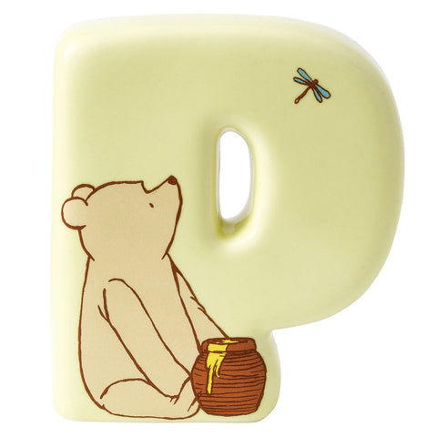"Classic Pooh ""P Winnie The Pooh"" Alphabet Letter"