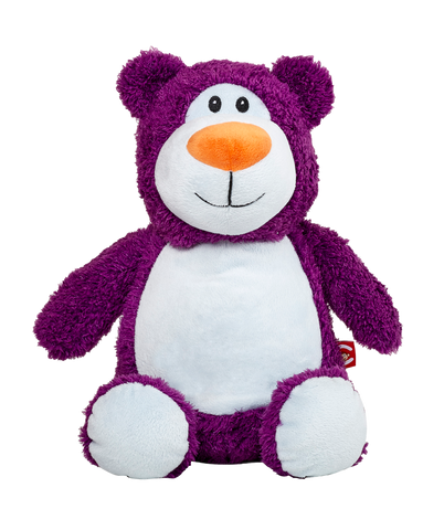 """Cubbyford"" Purple Bear"