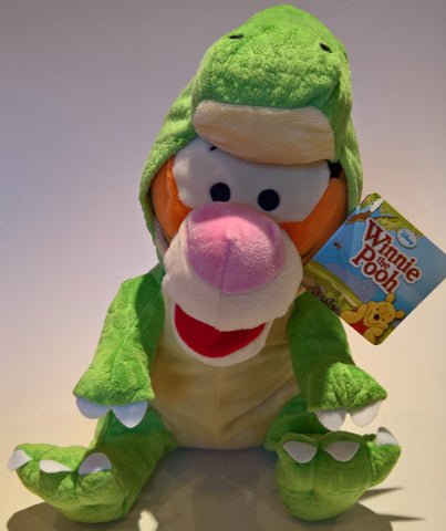 Disney Winnie the Pooh Tigger Dinosaur Suit plush Soft Toy 25cm