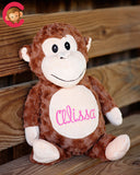 """Huggles"" Brown Monkey"