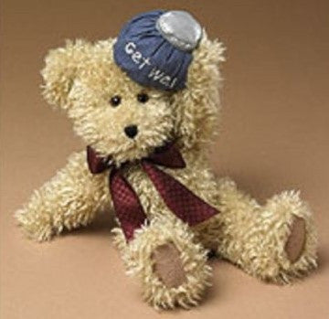 U. B. Better - Get Well - Genuine Boyds Bear Collectible Teddy