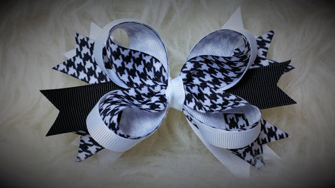 Boutique Spiked Hair Bow