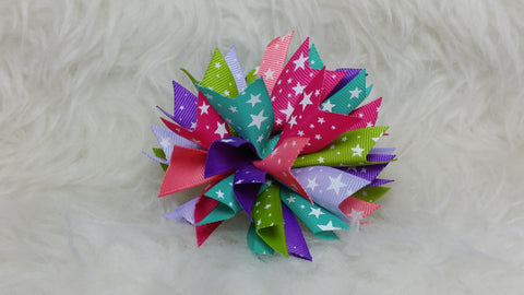Boutique Burst Spiked Hair Bow