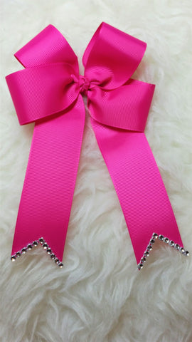 Basic 4-Loop Hair Bow With Tails