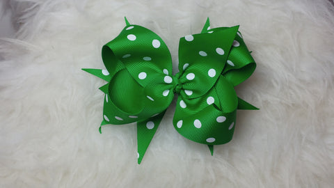 Basic Boutique Spiked Bow
