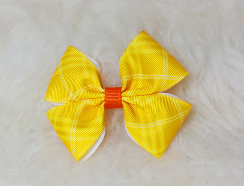 Boutique Stacked Pinwheel Hair Bow