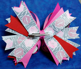 Boutique Stacked Twisted Hair Bow