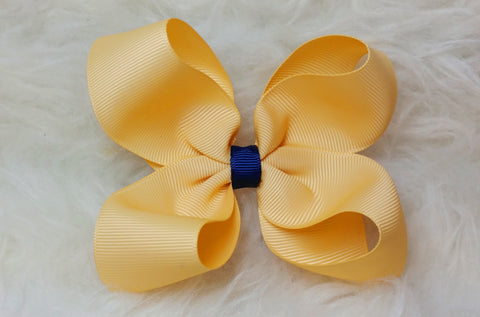Boutique Hair Bow - Back to School