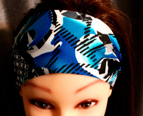 Fitness Headband - Graffiti Print