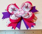 Boutique Stacked Hair Bow