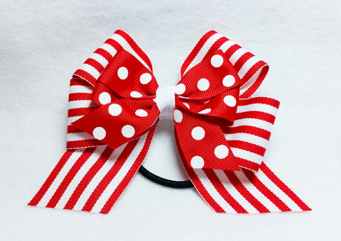 Boutique Pony Bow - Valentine's Day
