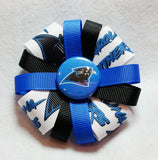 Flower Loop Hair Bow - Team Spirit