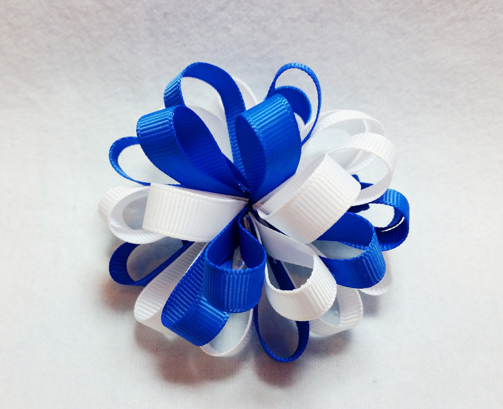Boutique Hair Bow Puff
