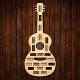 Guitar Wine Cork Holder