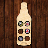 Small Beer Bottle Beer Cap Map