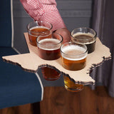 Pint Glass Serving Tray - 13 States Available