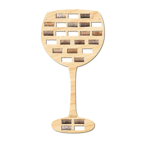 Wine Glass Wine Cork Holder