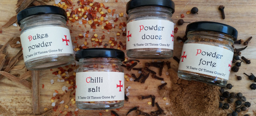 Medieval Spices - bringing history to your taste buds.