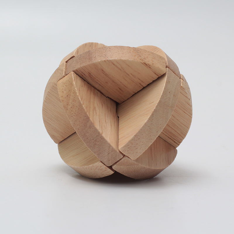 Luban Ball wooden puzzle