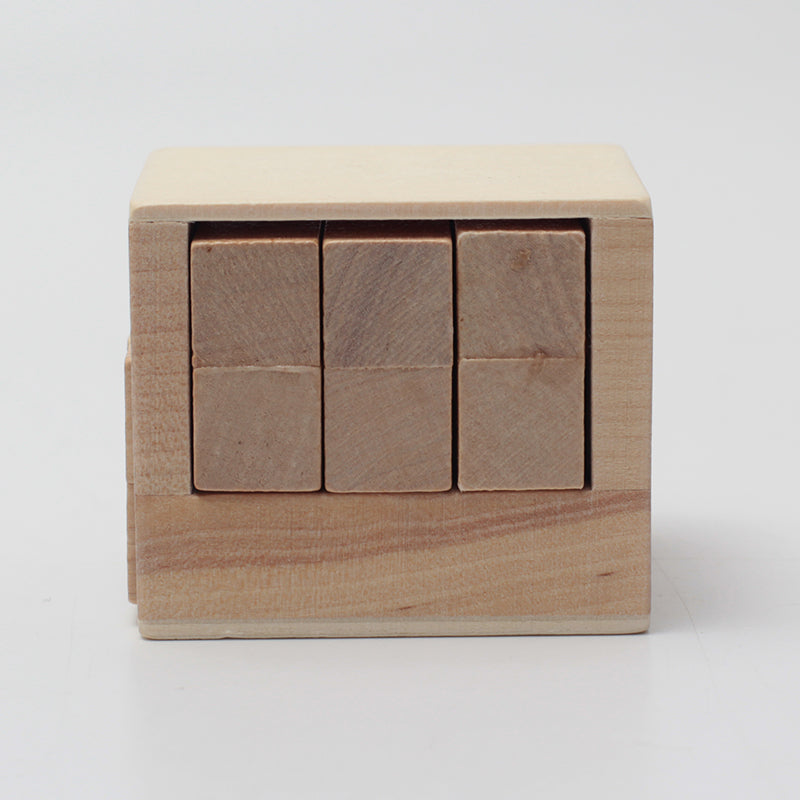Hidden Rule wooden puzzle
